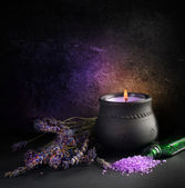 Lavender. Aromatherapy — Stock Photo