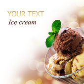 冰淇淋 — 图库照片