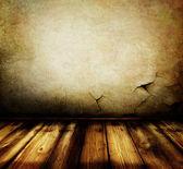Interior habitación vacía grunge — Foto de Stock