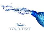 Fresh Water Splashing Over White — Stock Photo