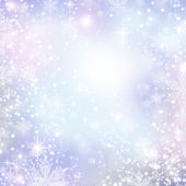Abstract Winter background. Christmas abstract bokeh — Stock Photo