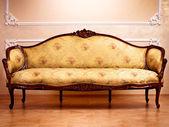 Luxury Interior . Carved Furniture — Stock Photo
