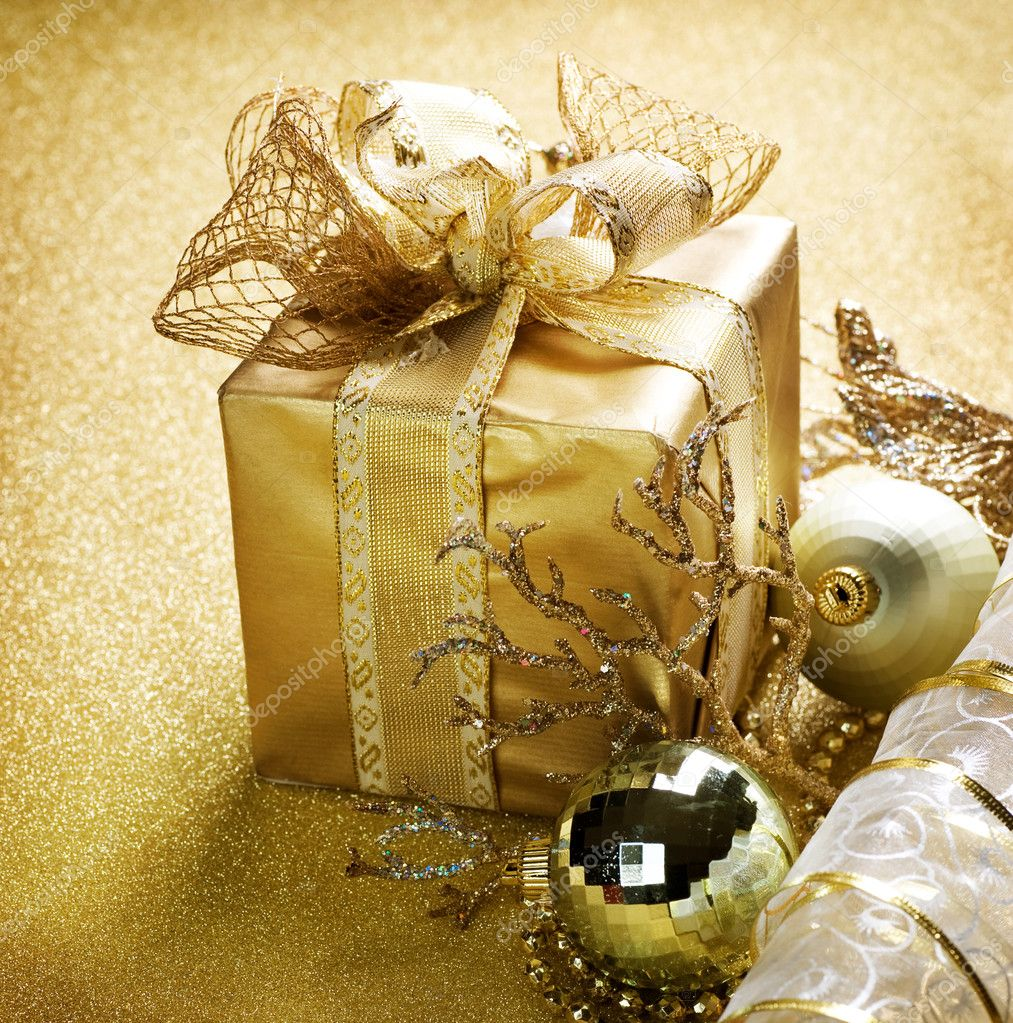 Christmas Gift — Stock Photo #10680583