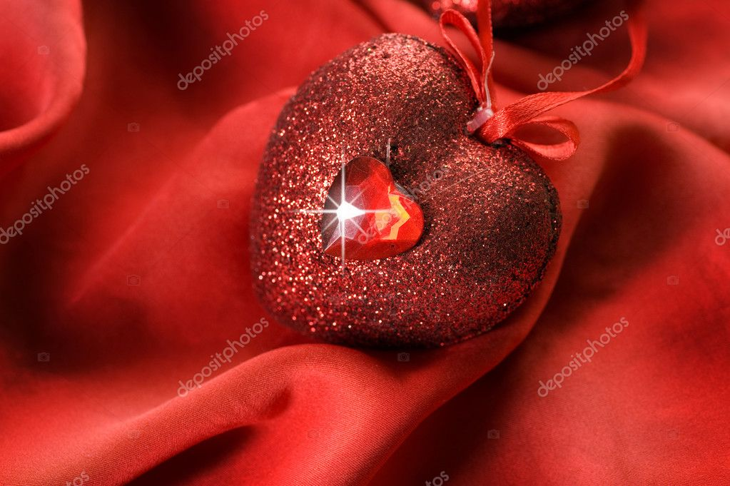 Red Heart — Stock Photo #10682575