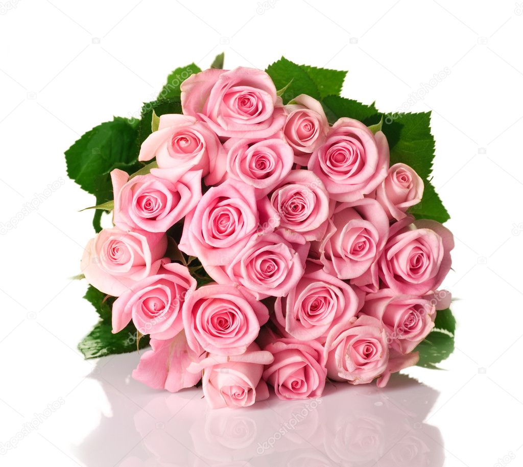 Big Roses Bouquet — Stock Photo #10682598