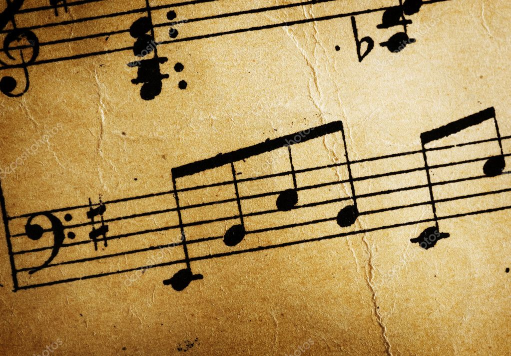 ... Stock Photo... Vintage Music Twitter Backgrounds