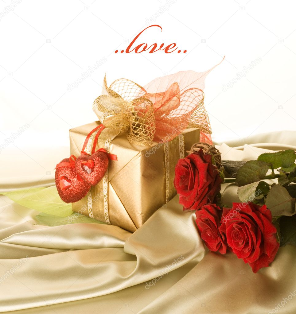 St.Valentine's Day Gift — Stock Photo #10683016