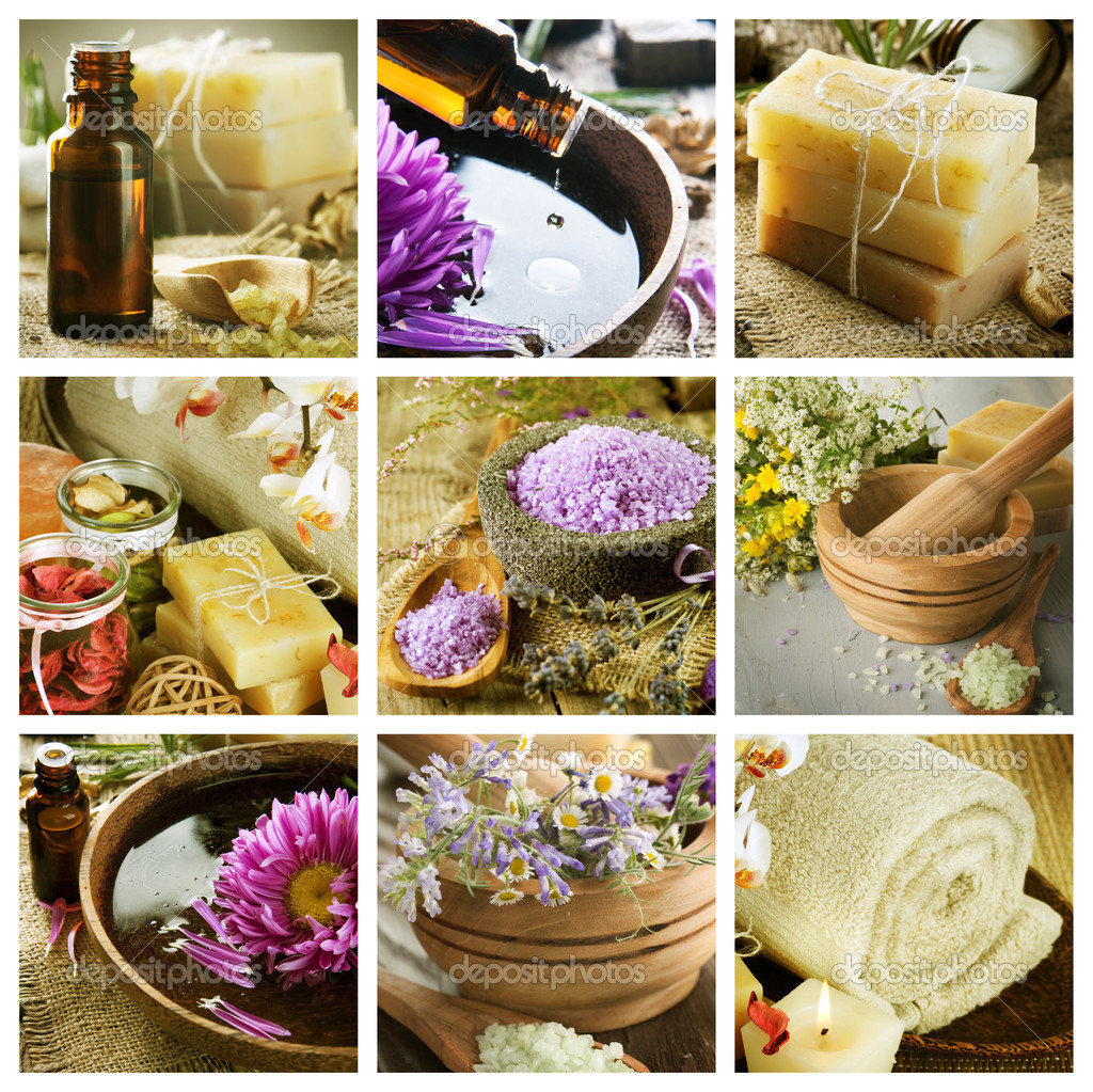 Spa Collage  Stock Photo #10688565