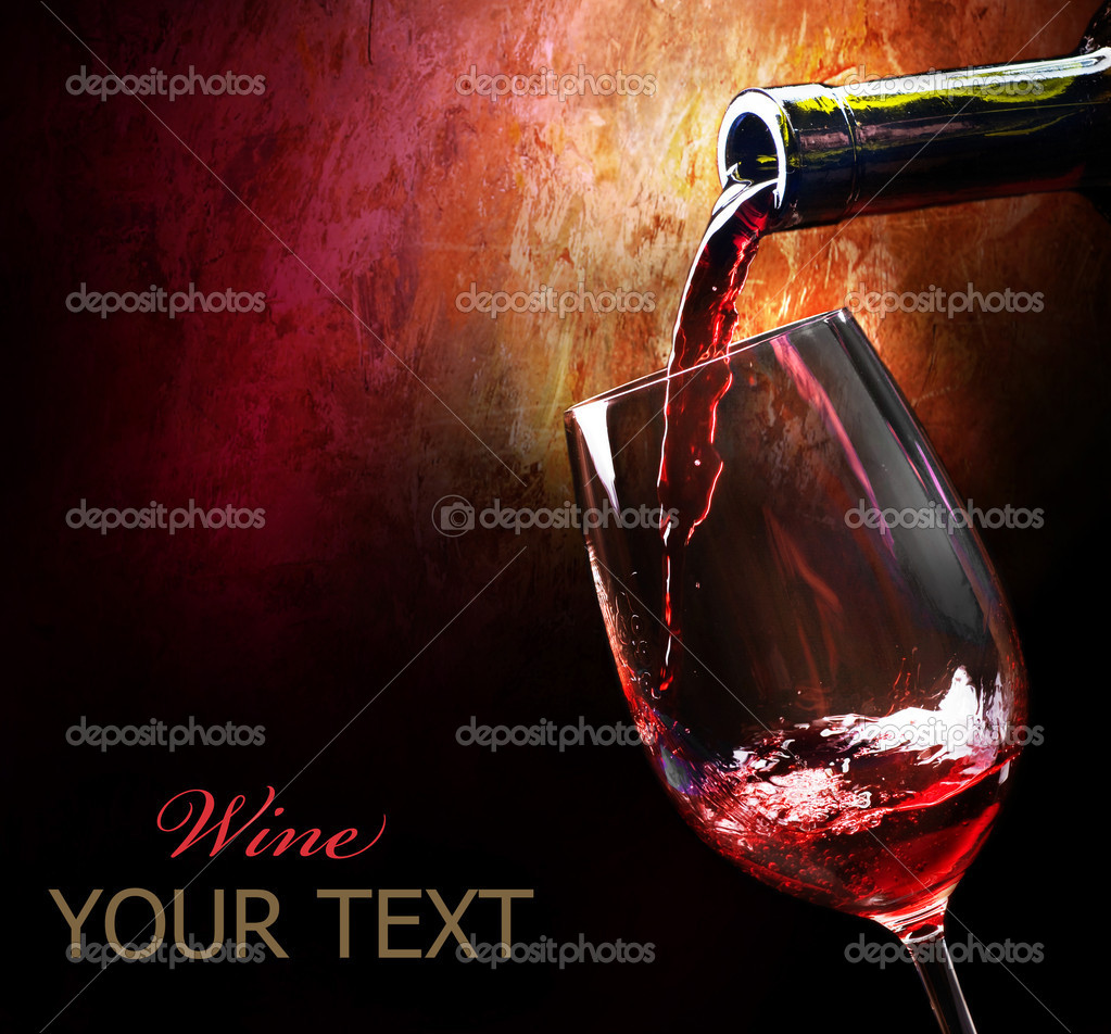 Red Wine  — Stockfoto #10688976