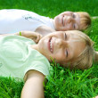 Happy Kids Outdoor — Stock Photo #10747019
