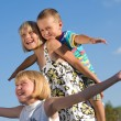Stock Photo: Happy Kids Outdoor