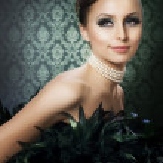 Beautiful Luxury Girl. Romantic Beauty Portrait — Stock Photo #10747161