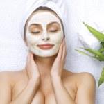 Spa Facial Clay Mask — Stock Photo #10747614