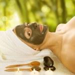 Spa Facial Mud Mask — Stock Photo #10747674