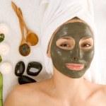 Spa Facial Mask — Stock Photo #10747682