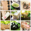 Beautiful Spa Collage — Stok fotoğraf #10747692