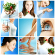 Healthy Lifestyle Collage — Stock Photo #10747696
