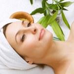Spa Woman.Beauty Treatments — Stock Photo