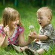 Kids Outdoor — Stock Photo