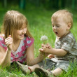 Stock Photo: Kids Outdoor
