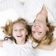 Happy Mother And Her Teenage Daughter — Stock Photo #10748155