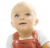 Baby Over White — Stock Photo