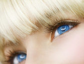 Blue Eyes — Stock Photo