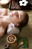 Spa Woman — Stock Photo