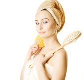 Bath Girl — Stock Photo