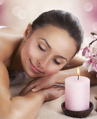 Spa Woman.Day Spa — Stock Photo