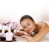 Spa Woman. Day Spa Salon — Stock Photo