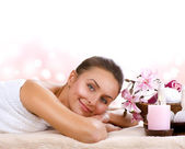 Spa Woman i — Stock Photo