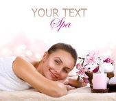 Woman.day de spa spa — Foto de Stock