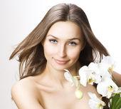 Beautiful Spa Woman — Stock Photo