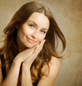 Beautiful Romantic Woman Portrait — Stock Photo