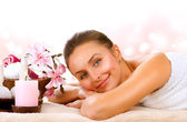 Spa Woman.Day Spa — Stockfoto
