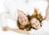 Mother With Her Teenage Daughter — Stock Photo