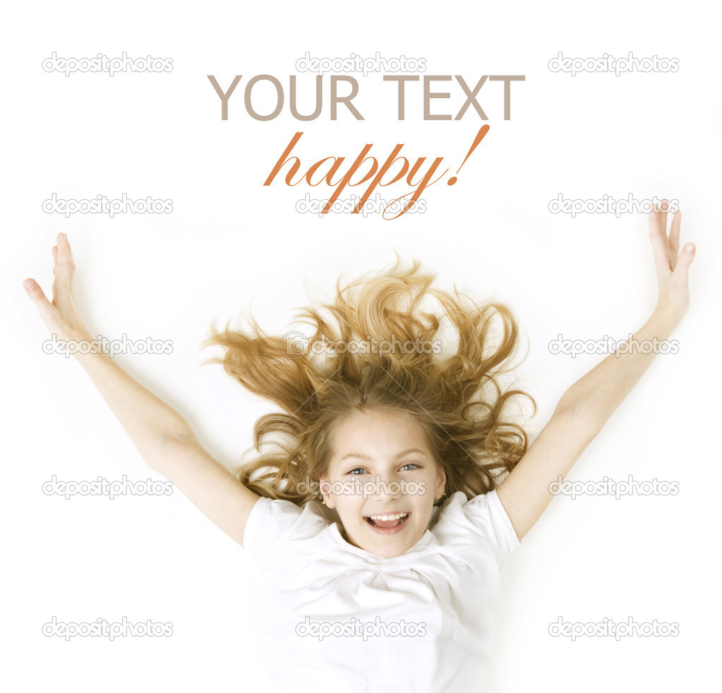 Happy Kid. Emotions — Stock Photo #10746885