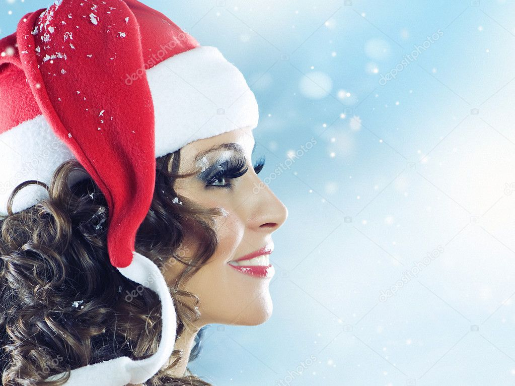 Christmas Woman — Stock Photo #10747085