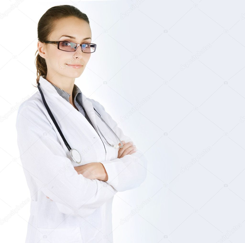 Female Doctor Portrait — Stock Photo #10747251