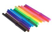 Färg markörer — Stockfoto