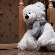 Stock Photo: Lonely Teddy Bear