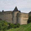 Medieval fortress in summer day — Stock Photo