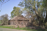 Old abandoned country house — Stock Photo
