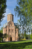 Ancient orthodox church in park — Stock Photo