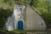 Ancient orthodox cave church — Stock Photo