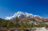 View on the Annapurna mountain of Nepal — Stock Photo