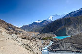 Like near Manang in Nepal — Stock Photo
