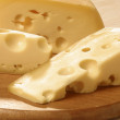 Stock Photo: Gruyere cheese