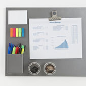 Gray Magnetic Board — Stock Photo